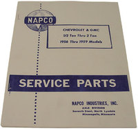 Bowtie Bits Antique Truck Parts :: 1955-59 NAPCO 4x4 Service Shop Manual